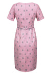 Designer pink mother of the bride dress
