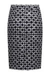 Check designer business wear skirt by Lalage