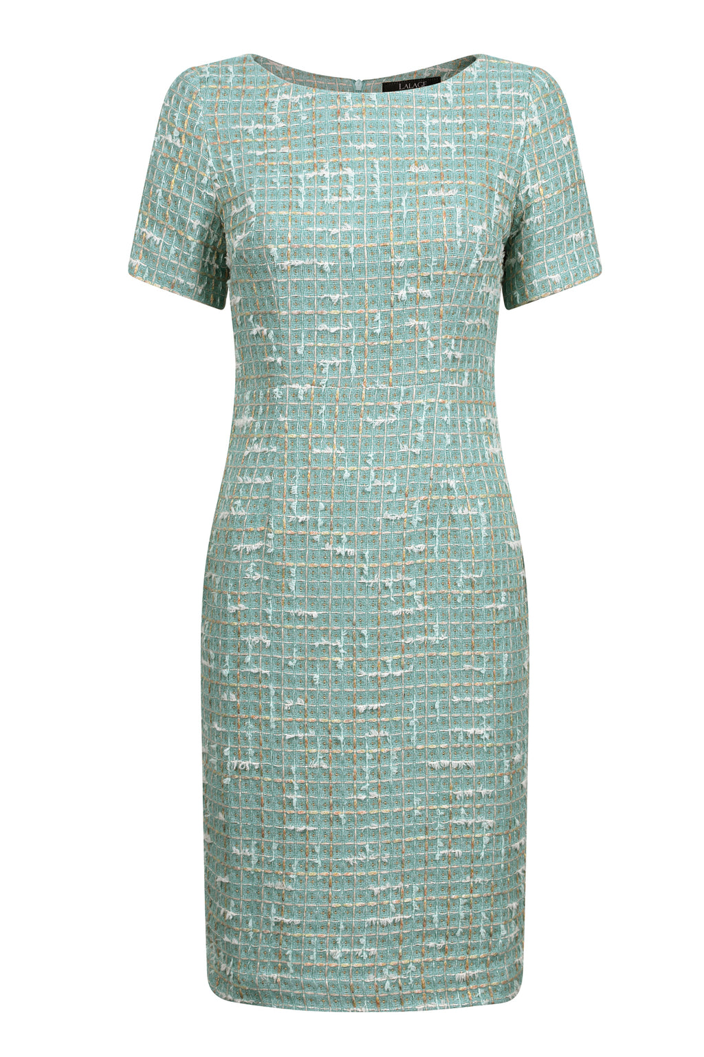 11e3f6456ef green jade tweed dress by mother of the bride designer lalage beaumont