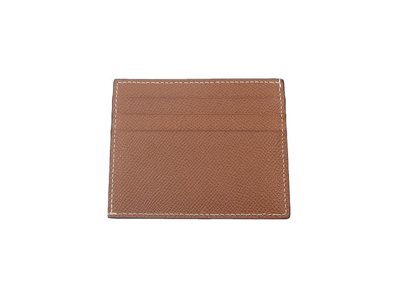 Card Holder Palmellato Leather - Tan