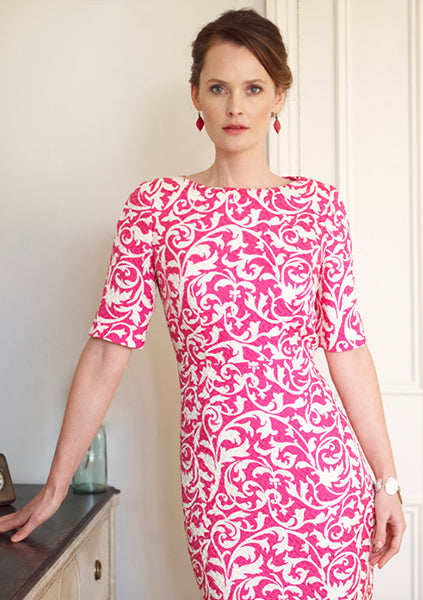 mother of the bride and occasion wear dress by Lalage Beaumont