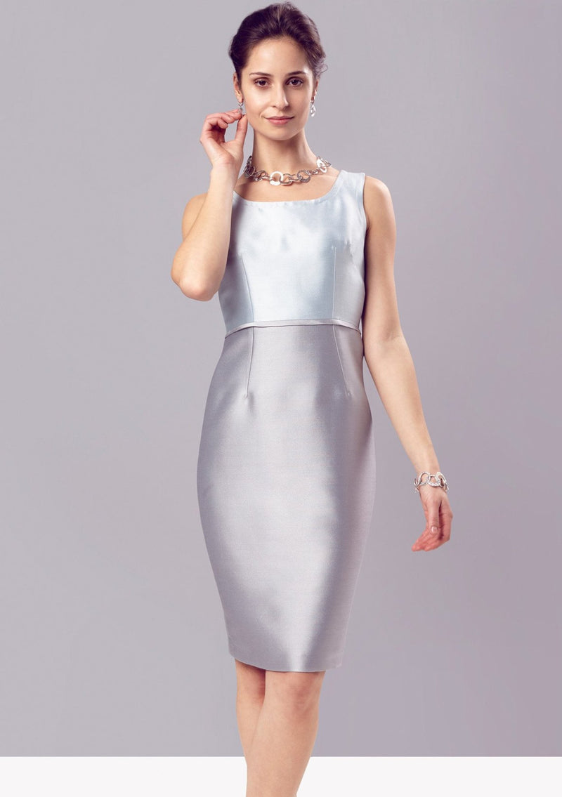 occasion wear dress by Lalage Beaumont for wedding guests