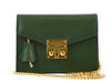 Small Coppelia Palmellato Leather Shoulder Bag - Dark Green
