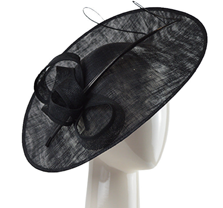 Hat - Small Disc Hat - Black