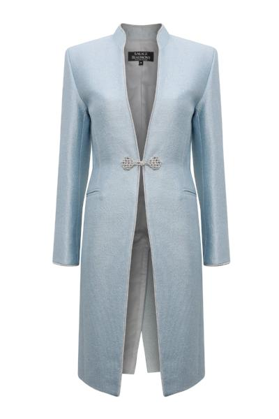 pale blue mother of the bride jacket uk