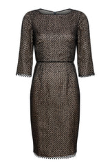 Jade tweed check dress - Angie