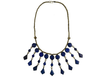 Necklace - Afghan Lapis Necklace