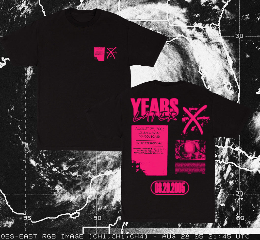 """Years Later"" Bus Ticket Collectors Tee"