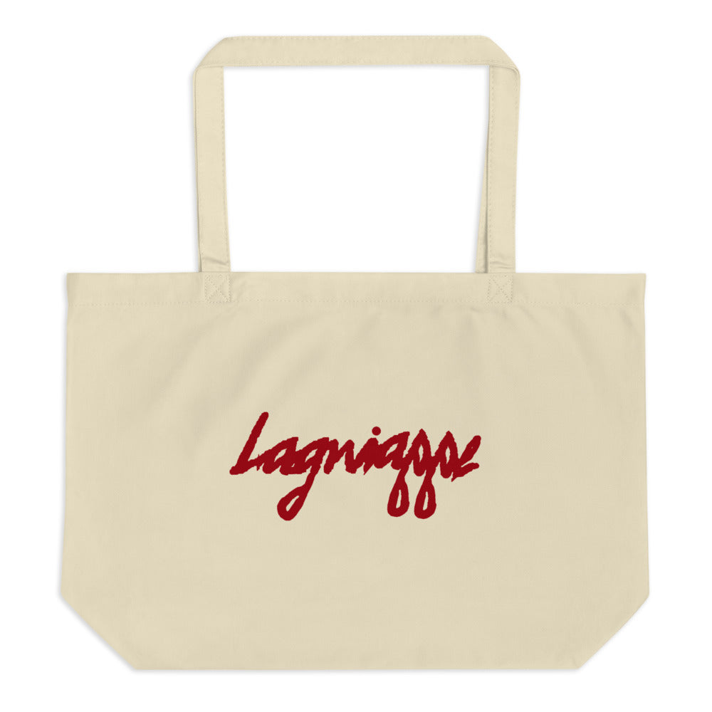 "The ""Flee"" Large organic tote bag"