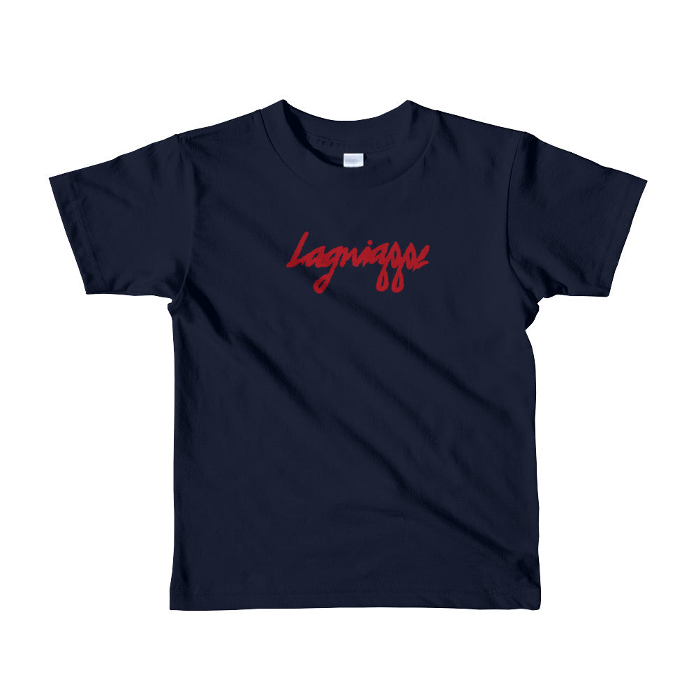 "The ""Logo"" Short sleeve kids t-shirt (Beaucoup Colors)"