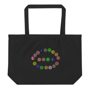 "The ""Merci Beaucoup"" Large organic tote bag (2020 Vision)"