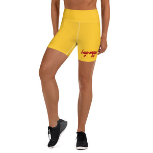 "The ""Logo"" Yoga Shorts"