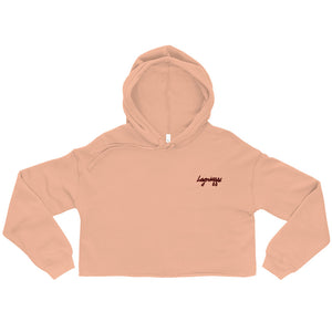 "The ""Mon Amour"" Crop Hoodie (Beaucop Colors)"