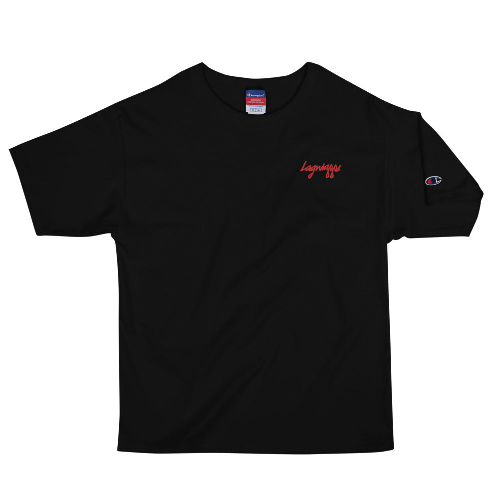 "The ""Flee"" Men's Lagniappe X Champion Collab T-Shirt"