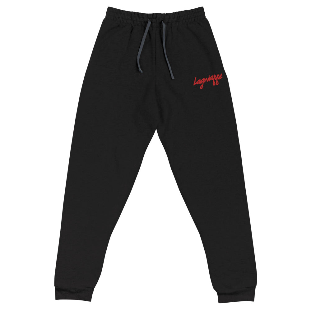 "The ""Flee"" Embroidered Joggers"
