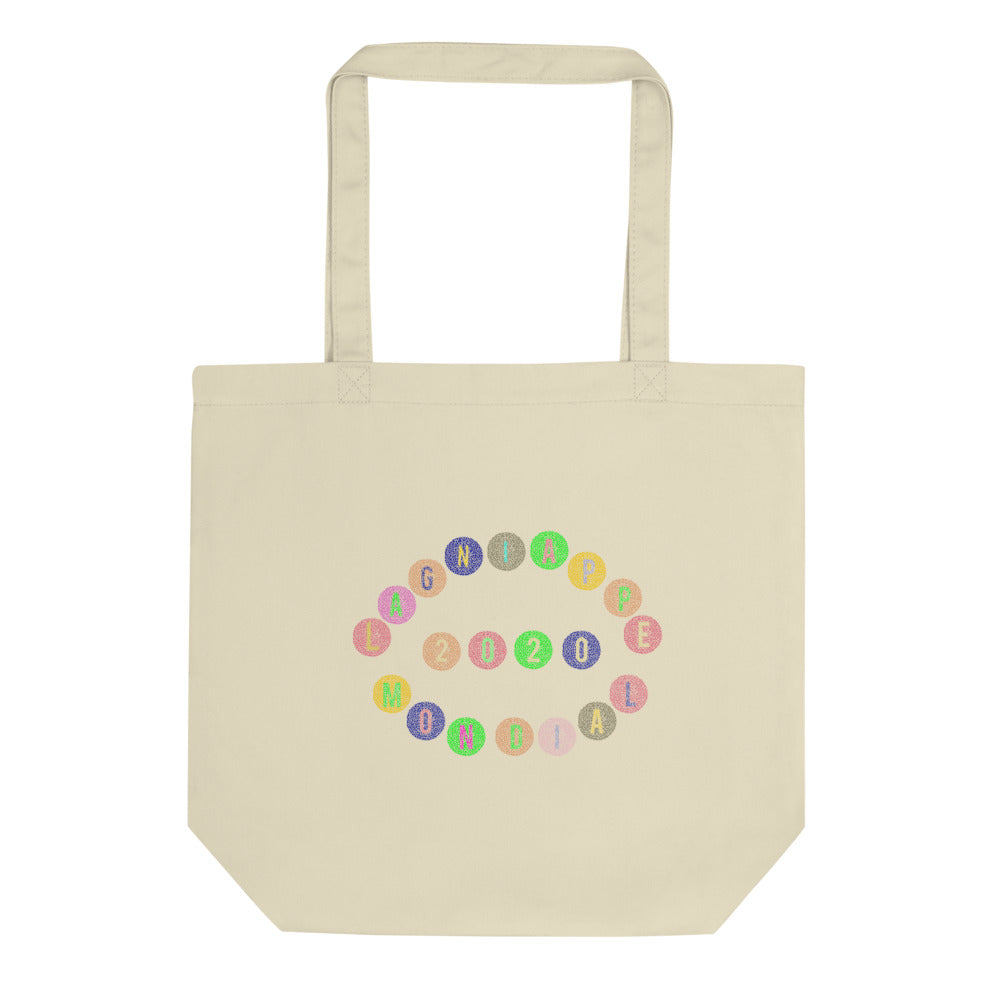 "The ""Merci Beaucoup"" Eco Tote Bag (2020 Vision)"
