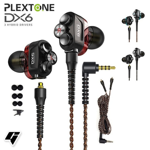 DX6 Detach Sport Combinable Bluetooth Earphone