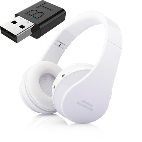 Wireless Headphones With Television Audio Transmitter Adapter