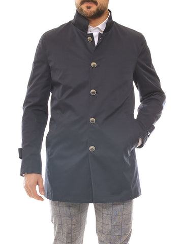 Trench uomo in nylon collo alto - Luanaromizi.com