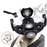 Glideshaver™ - 5-in-1 Waterproof Electric Shaver