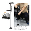 HappyStrides™ - Foldable LED Cane with Alarm