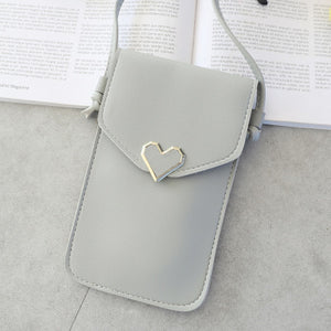 SmartPurse™ - Clutch with Protective Touchscreen Cover & Shoulder Strap