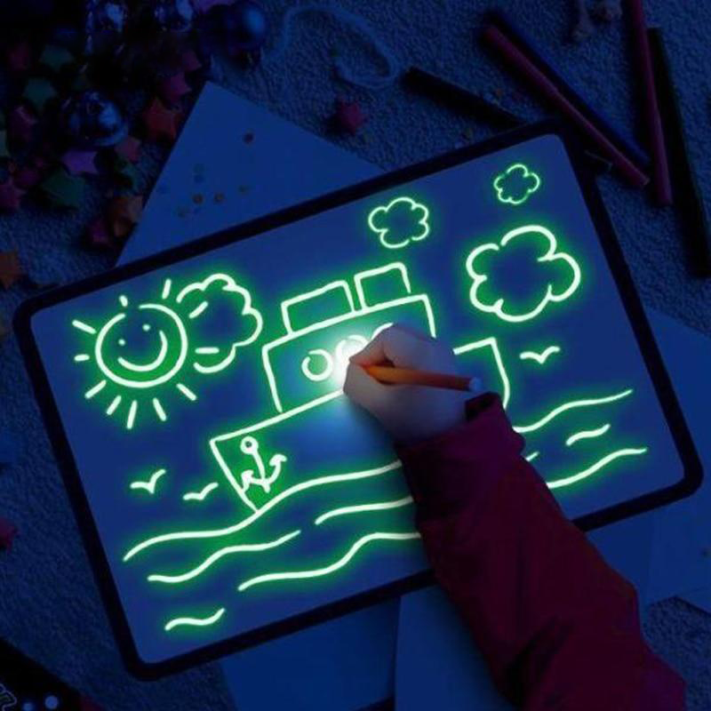 GlowBoard™ - Kids Luminous Drawing Board