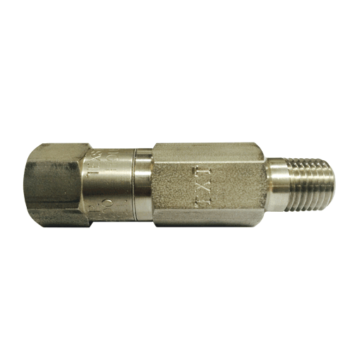 "Check Valve 1/4"" Stainless Steel"