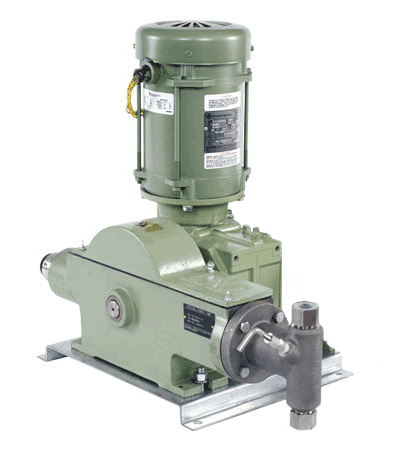 Texsteam 24F5-1 Series Pump (Single Head, 140 GPD, 4000 PSI)