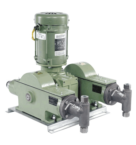 Texsteam 24F6-2 Series Pump (Double Head, 650 GPD, 3200 PSI)
