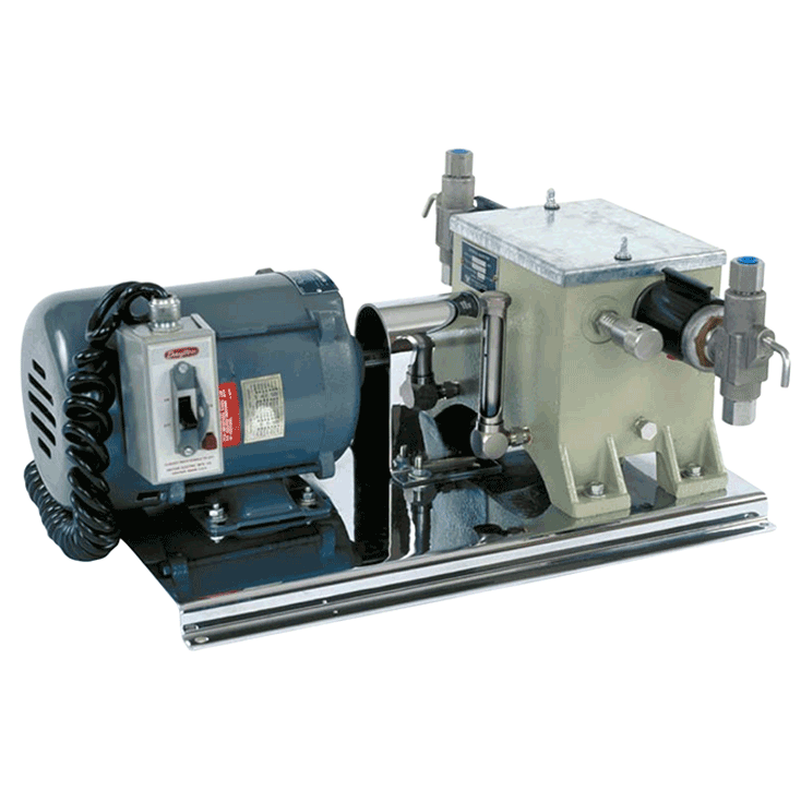 Texsteam 4324-2 Series Pump (Double Head, 5 GPD, 3000 PSI)