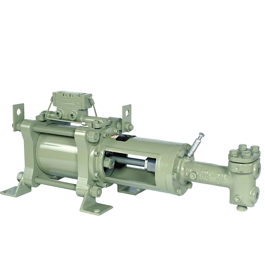 Texsteam 6122 Series Pump (Double Head, 17.5 GPM, 1800 PSI)