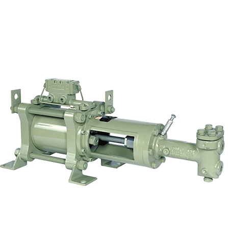 Texsteam 6112 Series Pump (Double Head, 3.5 GPM, 9000 PSI)