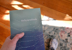 Today I Received a Gratitude Journal