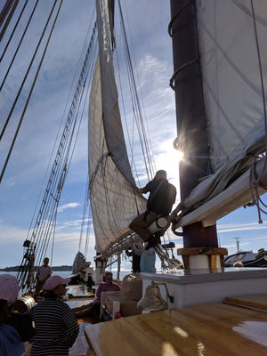 Learning to Trust the Journey - Four Days on the Schooner J&E Riggin