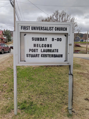 Poetry as Prayer in West Paris, Maine: A Local Visit from Stuart Kestenbaum
