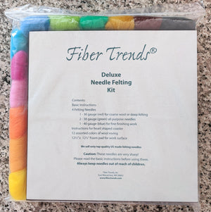 Needle Felting Kit - Deluxe