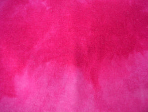 "Wool, Fat Quarter - ""Mad Magenta""- Hand Dyed Wool - Rug Hooking, Applique, Craft"