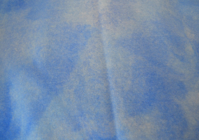 "Wool, Fat Quarter - ""Nothing But Blue Skies"" - Hand Dyed Wool - Rug Hooking, Applique, Craft"