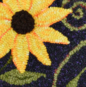 "Maine Roadside - 8"" x 8"" Rug Hooking Kit"