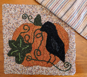 "October Morning - 12"" x 12"" Rug Hooking Kit"