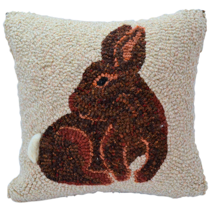 "Spring Rabbit *PATTERN ONLY* 10"" x 10""  Hooked Rug Pattern"