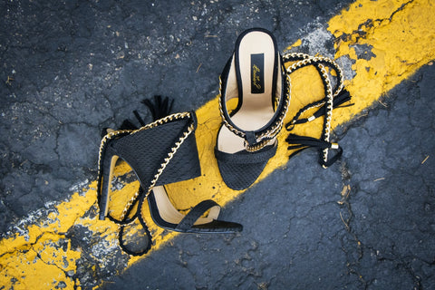 black cold blooded zmeya sandal