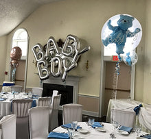 Load image into Gallery viewer, Saying or Name Balloon Letters Arch Delivered in Orange County California