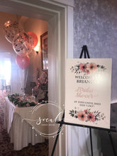 Load image into Gallery viewer, Sweet 16, Mitzvah, Quince or Birthday Party Sign in board or place card board 18x24