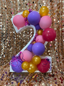 Balloon Numbers! Delivery to Orange County, CA