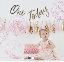 Load image into Gallery viewer, BABY CAKE SMASH 1ST BIRTHDAY KIT Pink or Blue Free Ship!