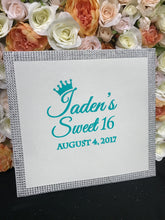 Load image into Gallery viewer, Sweet 16, Quince, Mitzvah Sign In Book