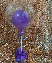 Load image into Gallery viewer, Custom Birthday Saying Balloon Centerpiece Arrangement! Local Orange County CA Delivery or Store Pick up