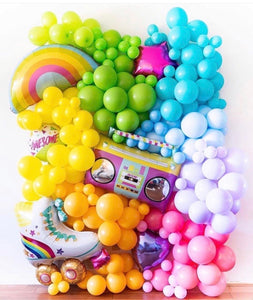 Fun Mini Themed Balloon Wall